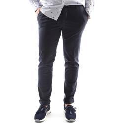 textil Herr Chinos / Carrot jeans Sei3sei 6OYSTER E1669 Blå
