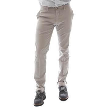 textil Herr Chinos / Carrot jeans Sei3sei 6OYSTER E1669 Svart