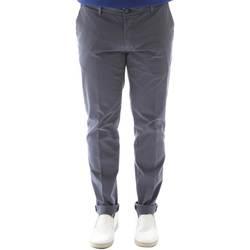 textil Herr Chinos / Carrot jeans Sei3sei 6OYSTER E1648 Svart