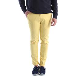 textil Herr Chinos / Carrot jeans Sei3sei 6OYSTER E1648 Gul