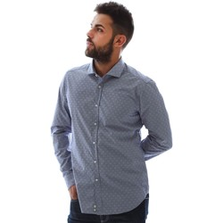 textil Herr Långärmade skjortor Gmf GMF3 3218 961153/01 Blå