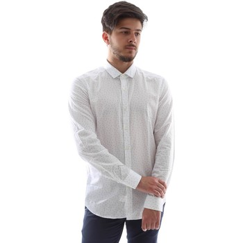 textil Herr Långärmade skjortor Gmf FS15 961138/1 Vit