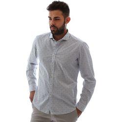 textil Herr Långärmade skjortor Gmf 961232/4 Vit
