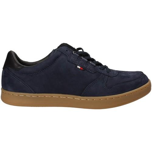 Skor Herr Sneakers Tommy Hilfiger FM0FM01028 Blå
