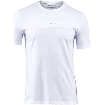 textil Herr T-shirts Lumberjack CM60343 001 508 Vit