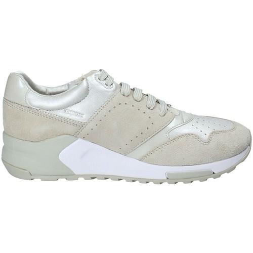 Skor Dam Sneakers Geox D724DA 022BV Gul