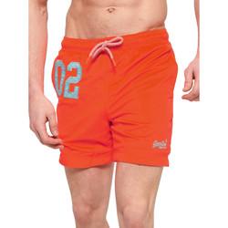 textil Herr Badbyxor och badkläder Superdry M30018AT Orange