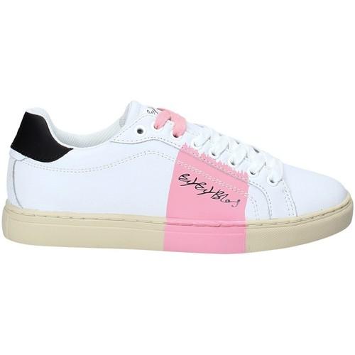 Skor Dam Sneakers Byblos Blu 2UA0002 LE9999 Vit