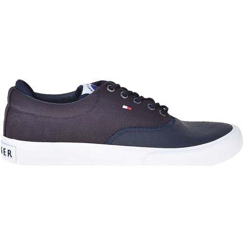 Skor Herr Sneakers Tommy Hilfiger FM0FM01938 Blå