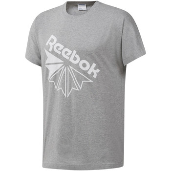 textil Herr T-shirts Reebok Sport DT8213 Grå