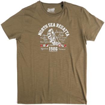 textil Herr T-shirts Key Up 2G78S 0001 Grön
