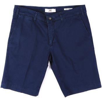 textil Herr Shorts / Bermudas Sei3sei PZV132 8137 Blå