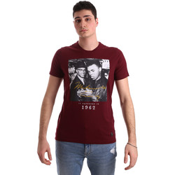 textil Herr T-shirts Gaudi 921BU64003 Röd