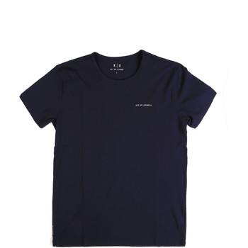 textil Herr T-shirts Key Up 2G69S 0001 Blå