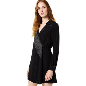 textil Dam Korta klänningar Liu Jo F69292 T9121 Svart