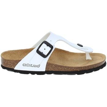 Skor Barn Flip-flops Grunland CB0926 Vit