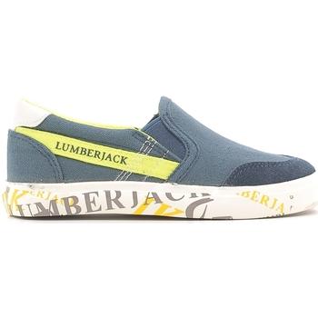 Skor Barn Slip-on-skor Lumberjack SB09105 003 N58 Blå