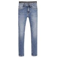 textil Pojkar Skinny Jeans Calvin Klein Jeans SKINNY VINTAGE LIGHT BLUE Blå