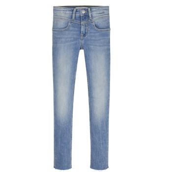 textil Flickor Skinny Jeans Calvin Klein Jeans SOLILA Blå