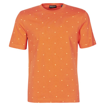 textil Herr T-shirts Scotch & Soda 160854 Röd