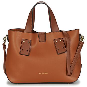 Väskor Dam Handväskor med kort rem Ted Lapidus CORBY Kamel