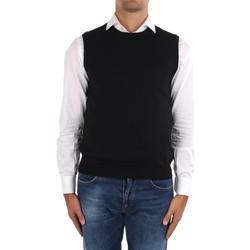 textil Herr Koftor / Cardigans / Västar La Fileria 14290 55168 Black
