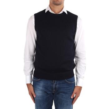 textil Herr Koftor / Cardigans / Västar La Fileria 14290 55168 Blue