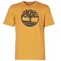textil Herr T-shirts Timberland SS KENNEBEC RIVER BRAND TREE TEE Kamel