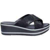 Skor Dam Tofflor Grace Shoes 21114 Svart