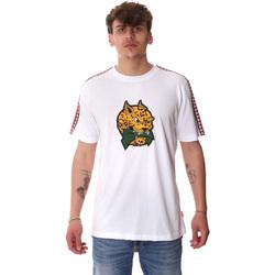 textil Herr T-shirts Sprayground 20SP032WHT Vit