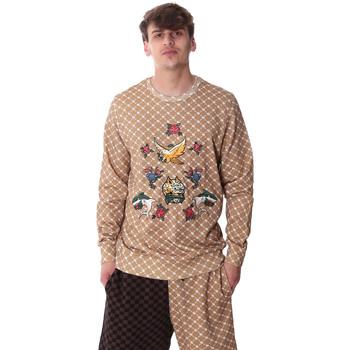 textil Herr Sweatshirts Sprayground 20SP025 Beige