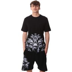 textil Herr T-shirts Sprayground 20SP012 Svart