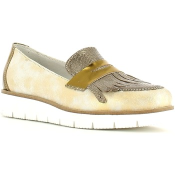 Skor Dam Loafers Grace Shoes AA51 Guld