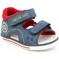 Skor Barn Sandaler Grunland PS0017 Blå