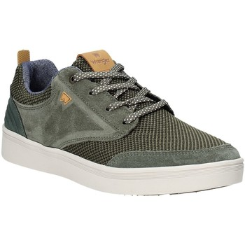 Skor Herr Sneakers Wrangler WM91001A Grön