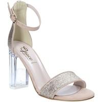 Skor Dam Sandaler Grace Shoes 018TR003 Beige