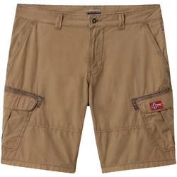 textil Herr Shorts / Bermudas Napapijri NP0A4E1O Brun