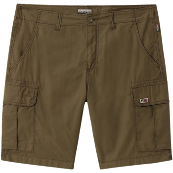 textil Herr Shorts / Bermudas Napapijri NP0A4E1K Grön