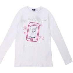 textil Barn Långärmade T-shirts Chicco 09006871000000 Vit