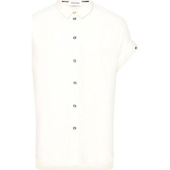 textil Dam Skjortor / Blusar Calvin Klein Jeans K20K201950 Beige