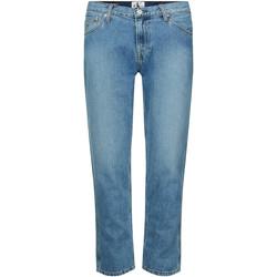 textil Dam Stuprörsjeans Calvin Klein Jeans J20J212767 Blå
