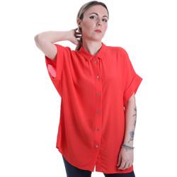 textil Dam Skjortor / Blusar Calvin Klein Jeans K20K201950 Röd