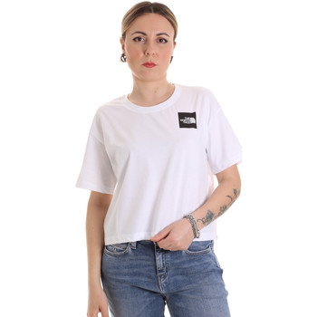 textil Dam T-shirts The North Face NF0A4SY9FN41 Vit