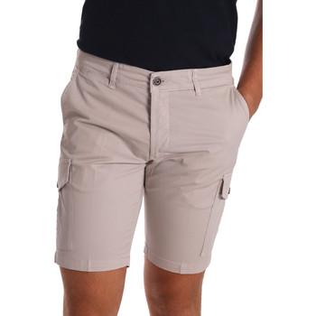 textil Herr Shorts / Bermudas Sei3sei PZV130 7148 Beige