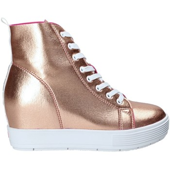 Skor Dam Höga sneakers Fornarina PE17MJ9543I091 Rosa
