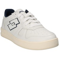 Skor Herr Sneakers Lotto T4570 Vit
