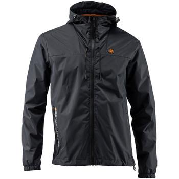textil Herr Sweatjackets Lumberjack CM79723 001 407 Svart