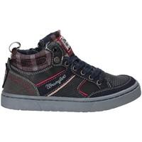 Skor Barn Höga sneakers Wrangler WJ17225 Blå
