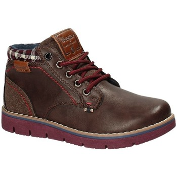 Skor Barn Boots Wrangler WJ17215 Brun
