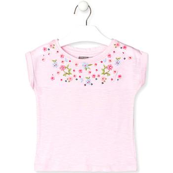 textil Barn T-shirts Losan 016-1003AL Rosa